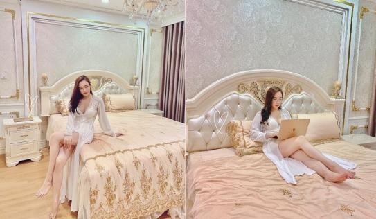 Hết khoe thân quá đà, hot girl đòi vượt mặt Chi Pu lại lộ ảnh giường chiếu táo bạo