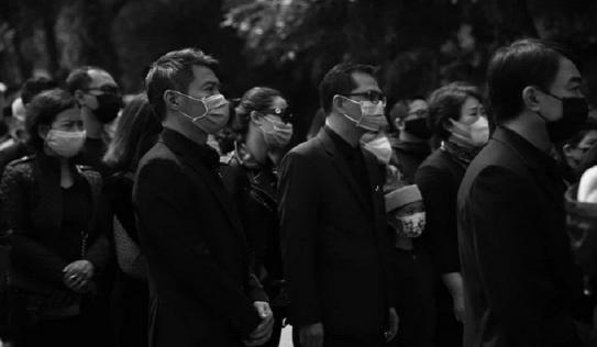 Xúc động điếu văn vĩnh biệt cố NSND Trần Hạnh về nơi an nghỉ cuối cùng