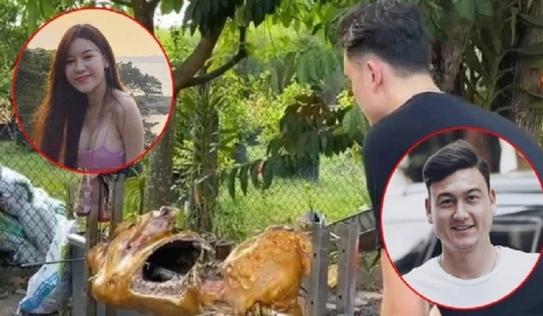 Lâm Tây đuợc nhà gái mổ bò đãi tiệc siêu to, netizen háo hức chờ uống rượu mừng
