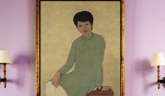 Bức tranh sơn dầu 'Chân dung Madam Phương' đạt kỷ lục 3,1 triệu USD