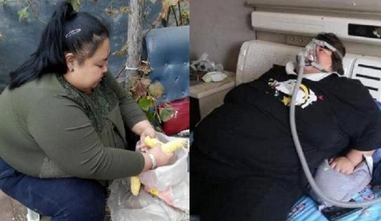 Cô gái béo phì nặng tới 2 tạ bất chấp mang bầu, đứa trẻ sinh ra hối hận không kịp