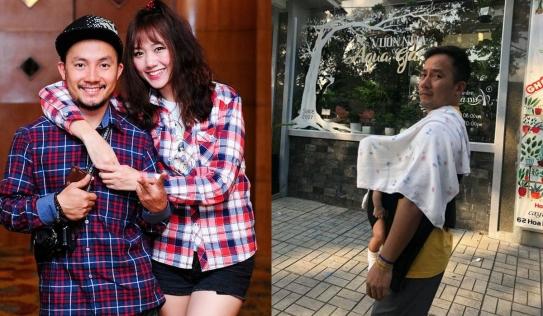 Tình cũ Hari Won hạnh phúc bên vợ trẻ, lần đầu khoe con trai trên MXH