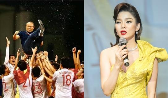 Lệ Quyên dành quà đặc biệt cho tuyển nữ và U22 Việt Nam trong liveshow 30 tỷ