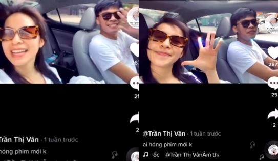 Clip của Trung Ruồi và Trần Vân bị Tiktok cảnh báo vì vi phạm luật giao thông