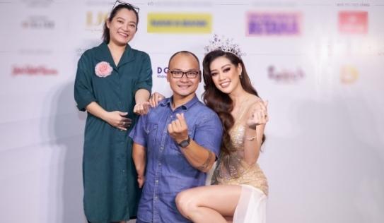 Khánh Vân ghi điểm tuyệt đối với hành động khi chụp ảnh với khách mời khuyết tật