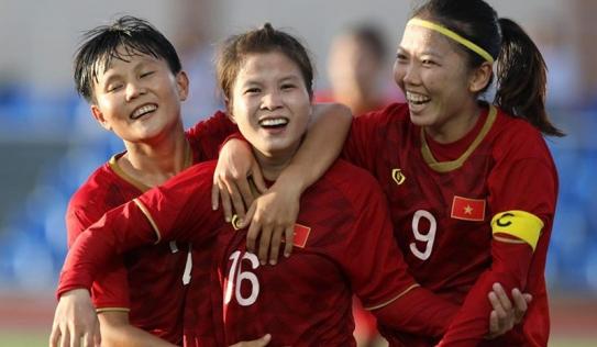 SEA Games 30: ĐT nữ Việt Nam đứng nhất bảng, đụng độ chủ nhà Philippines tại bán kết