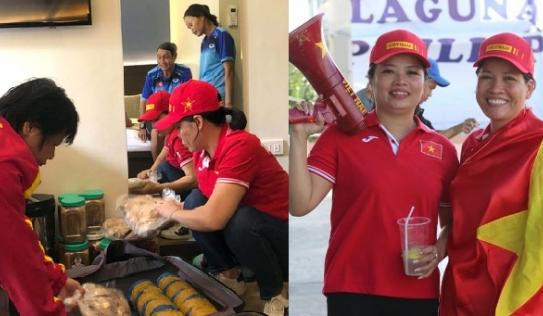 Danh tính nữ CĐV Việt Nam và câu thần chú 'Bay lên trời' trong trận gặp U22 Singapore