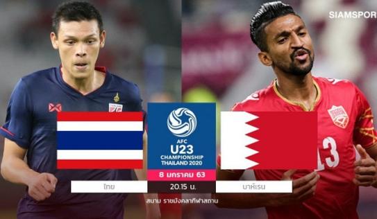 Lịch thi đấu U23 châu Á hôm nay: U23 Thái Lan xuất trận