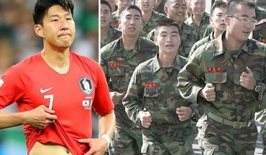 Cận cảnh khóa huấn luyện quân sự khắc nghiệt bậc nhất mà Son Heung Min phải trải qua