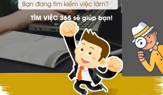 Tìm việc làm thêm nhanh chóng và hiệu quả tại timviec365.vn