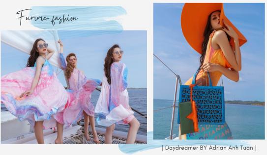 Top 3 Miss International Queen 'lạc vào giấc mơ trưa' trong thiết kế mới của NTK Adrian Anh Tuấn.