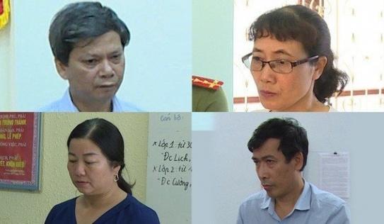 Người thân các thí sinh được nâng điểm ở Sơn La khai báo gì tại cơ quan công an?