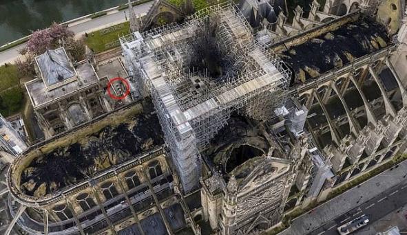 200.000 con ong sống sót sau vụ cháy Nhà thờ Đức Bà Paris