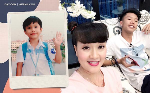 Lộ ảnh con trai 'bí ẩn' của nghệ sĩ Vân Dung, diện mạo gây chú ý 3