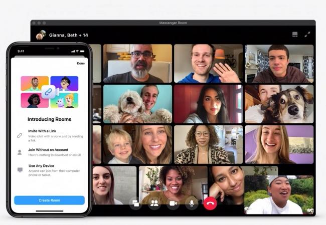 Facebook ra tính năng cạnh tranh với Zoom: Cho phép gọi video với tối da 50 người  1