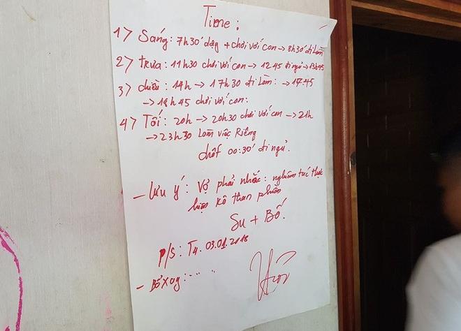 Nhiều người bất ngờ trước lịch sinh hoạt đầy khung giờ 'chơi với con' trong nhà của trùm ma túy Nguyễn Văn Thuận
