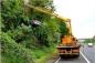 Nữ tài xế mất lái, phi thẳng chiếc Mazda 6 lên thân cây cao 6m
