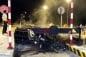 Video: Xe Mercedes gây tai nạn giao thông trên cao tốc Long Thành