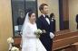 Kim Tae Hee đã xuất hiện với váy ngắn trong đám cưới