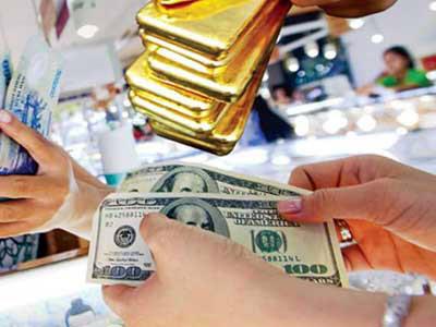 Hình ảnh Giá vàng hôm nay 17/5/2017: Vàng tăng mạnh khi USD tụt dốc số 1