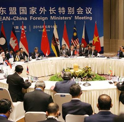 Hình ảnh Trung Quốc-ASEAN đạt thỏa thuận khung về COC số 1