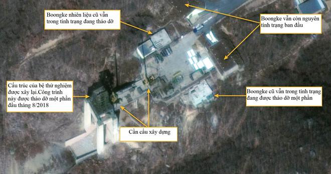 Loạt ảnh vệ tinh cho thấy Triều Tiên xây lại bãi phóng tên lửa tầm xa 1
