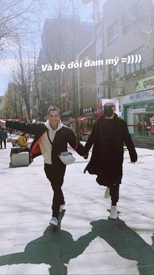 Tóc Tiên lộ ảnh bí mật sang Hàn Quốc với Hoàng Touliver  2