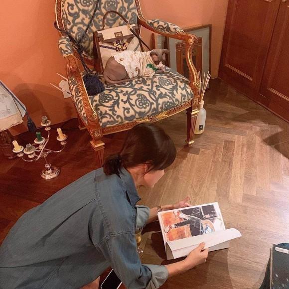 Lộ ảnh nghi vấn Song Hye Kyo đang mang thai với Song Joong Ki 2