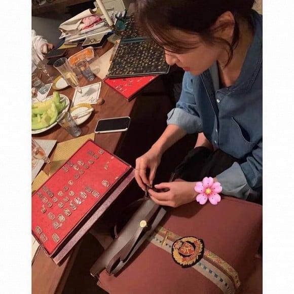 Lộ ảnh nghi vấn Song Hye Kyo đang mang thai với Song Joong Ki 3
