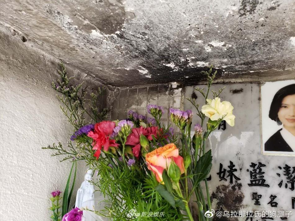 Bức xúc phần mộ của Lam Khiết Anh bị cháy đen 2