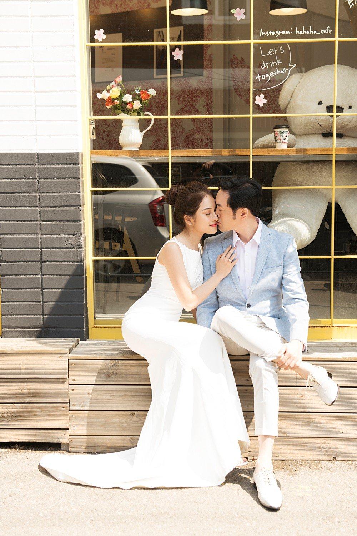 Ngắm ảnh cưới đẹp như mơ của Dương Khắc Linh và bạn gái Sara Lưu 7