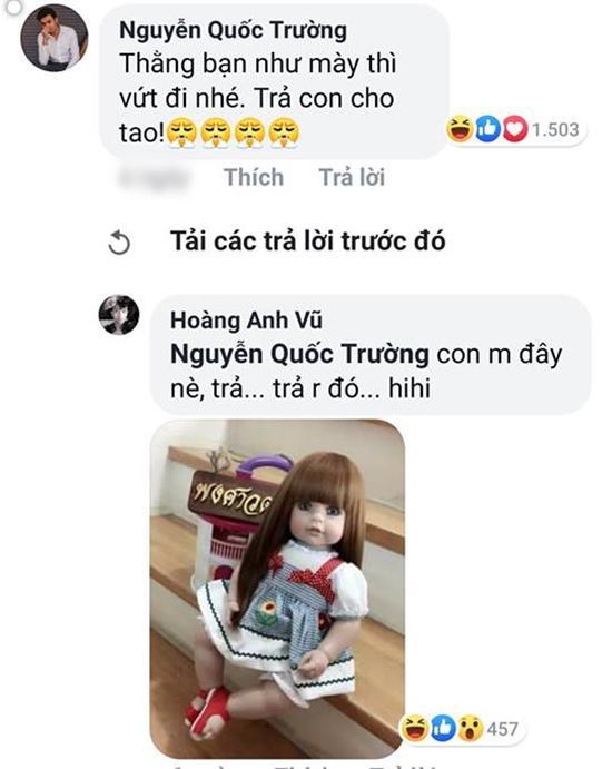 Quốc Trường vào tận facebook 'dằn mặt' bạn thân vì dám cướp 'vợ con' 2