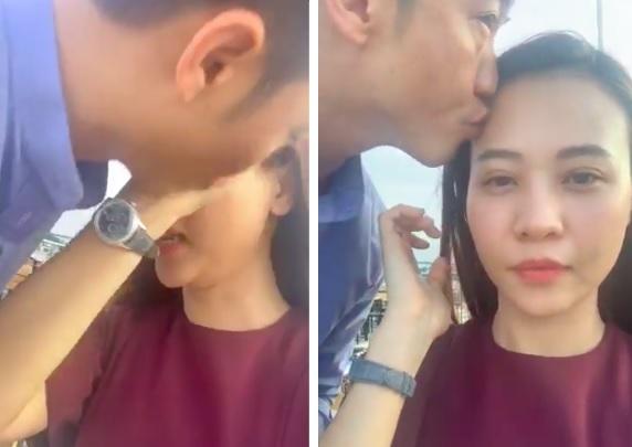 Vừa hôn Đàm Thu Trang, Cường đô la lại tiếp tục nịnh vợ  1