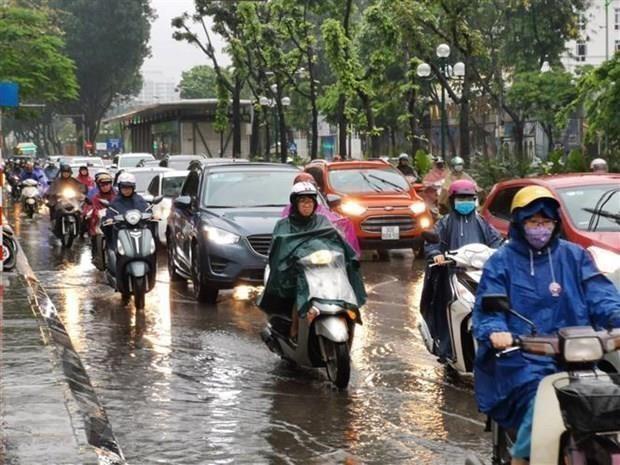 Tin tức thời tiết, dự báo thời tiết mới nhất hôm nay 17/6: Cảnh báo mưa dông ở Bắc Bộ 1