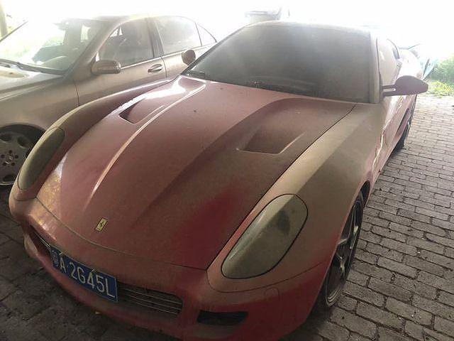 Siêu xe Ferrari 599 gần 3 tỷ thanh lý với giá 6 triệu đồng 2