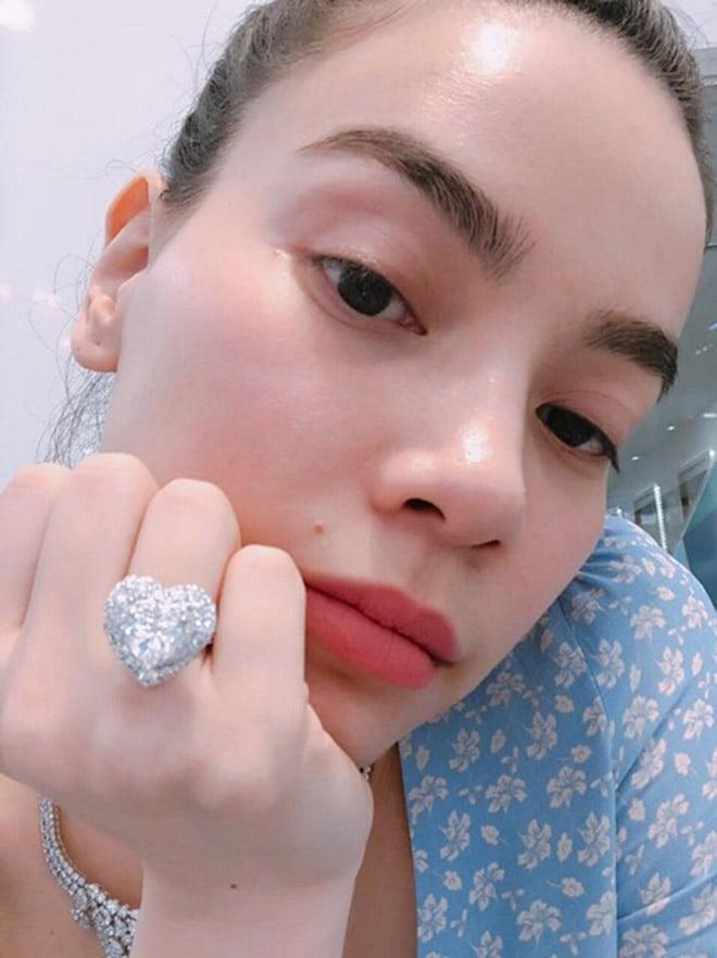 Hồ Ngọc Hà khiến fan ngỡ ngàng với sở thích sưu tập nhẫn kim cương 'khủng' 3