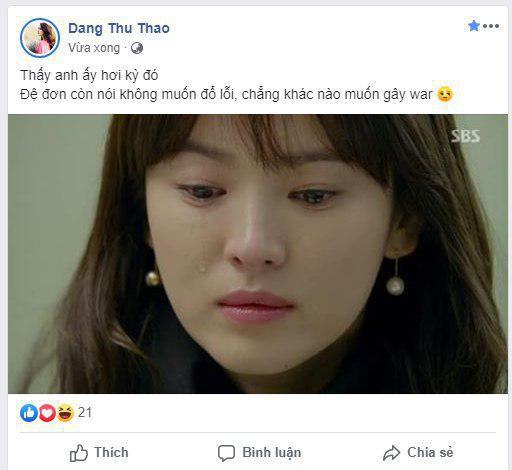 HH Đặng Thu Thảo lên tiếng sau phát ngôn về vụ ly hôn Song Hye Kyo 1