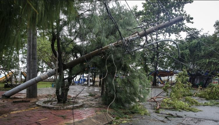 Cập nhật tin bão số 2 mới nhất: Bão giật cấp 11 đã đổ bộ vào Hải Phòng - Nam Định 1