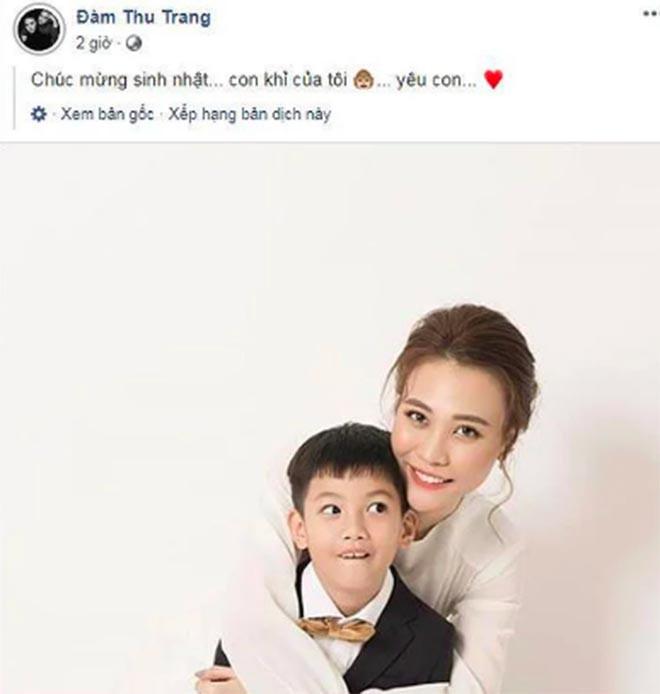 Đàm Thu Trang ứng xử khôn khéo với con trai Cường đô la trước thềm đám cưới 3
