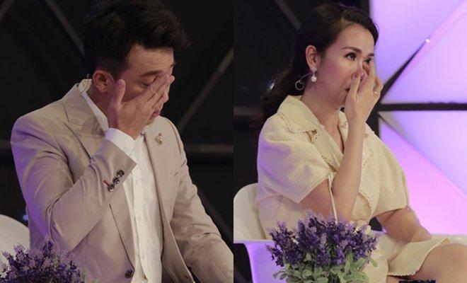 Trấn Thành, Phạm Quỳnh Anh khóc như mưa, rút tiền túi ủng hộ chị em mồ côi 1
