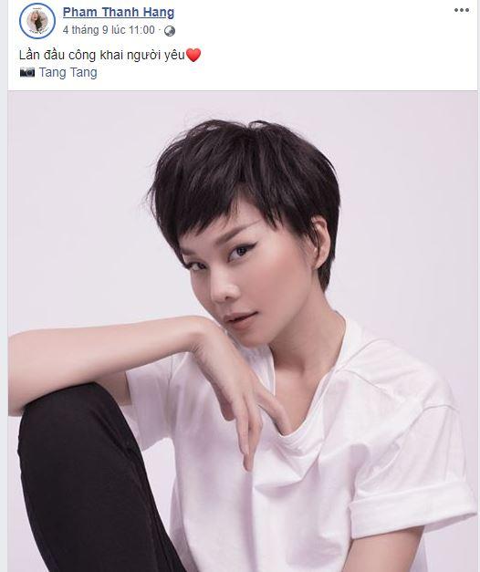 Sau bao đồn đoán với Hà Anh Tuấn, Thanh Hằng 'công khai người yêu' 1