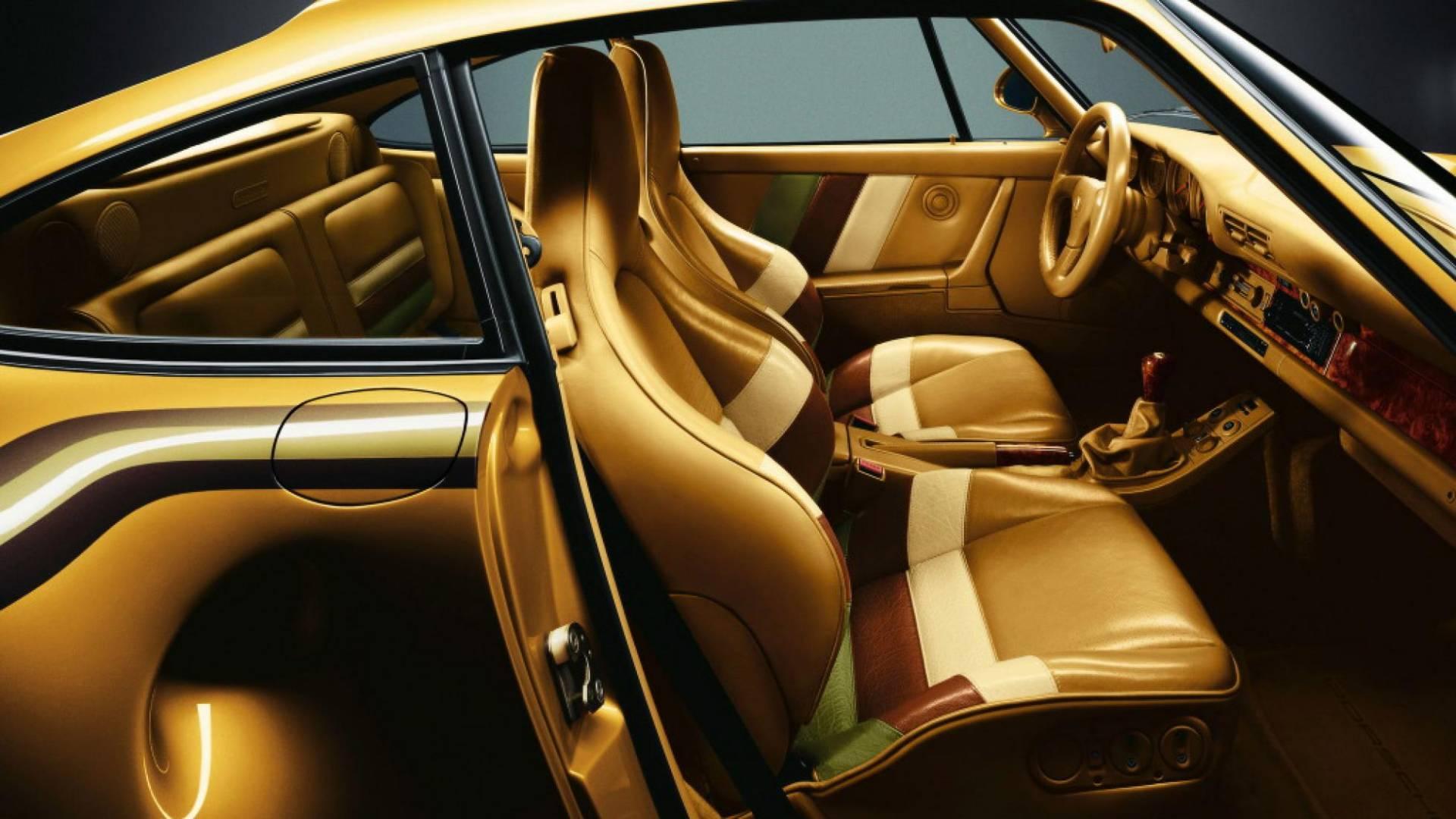 Porsche 959 vàng Gold của hoàng tộc Qatar, 'độc' nhưng chưa phải là tất cả 4