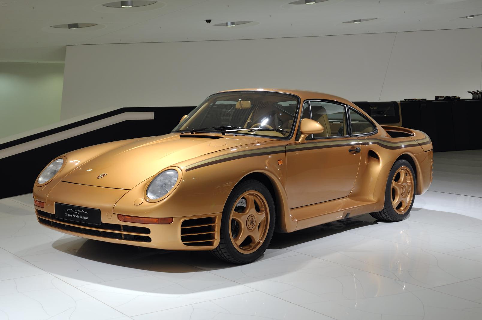 Porsche 959 vàng Gold của hoàng tộc Qatar, 'độc' nhưng chưa phải là tất cả 5