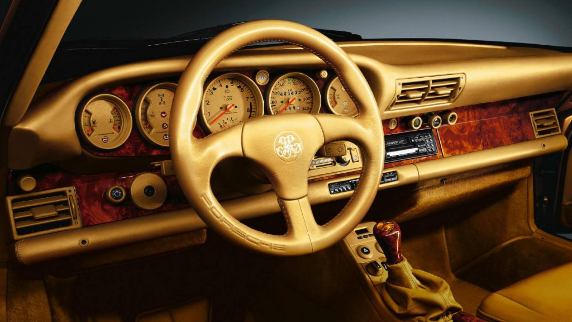 Porsche 959 vàng Gold của hoàng tộc Qatar, 'độc' nhưng chưa phải là tất cả 3