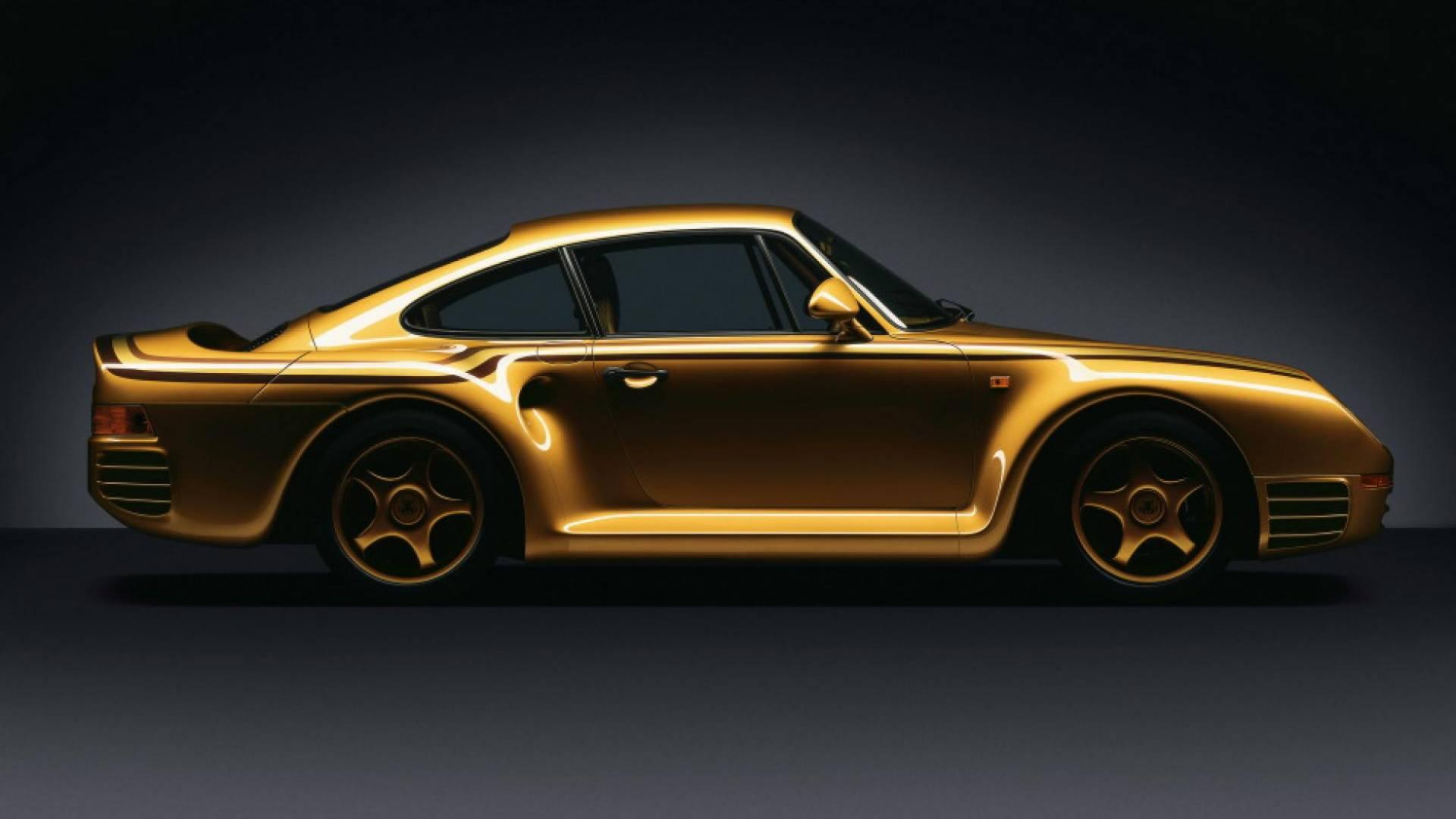 Porsche 959 vàng Gold của hoàng tộc Qatar, 'độc' nhưng chưa phải là tất cả 1