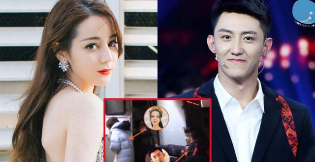 Địch Lệ Nhiệt Ba bị tung ảnh chụp lén qua đêm với trai đẹp 3