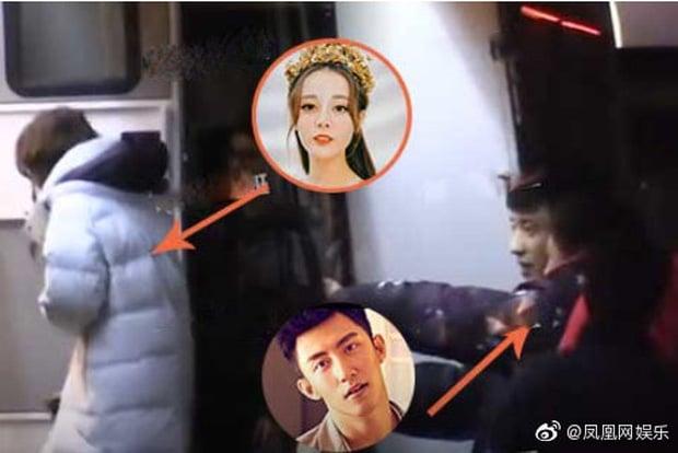 Địch Lệ Nhiệt Ba bị tung ảnh chụp lén qua đêm với trai đẹp 1