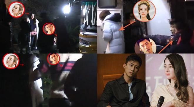 Địch Lệ Nhiệt Ba bị tung ảnh chụp lén qua đêm với trai đẹp 2