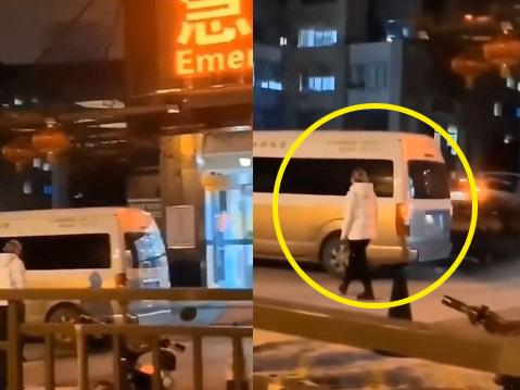Nghẹn ngào tiếng khóc gọi 'Mẹ ơi' trước cổng bệnh viện Trung Quốc giữa dịch corona 1