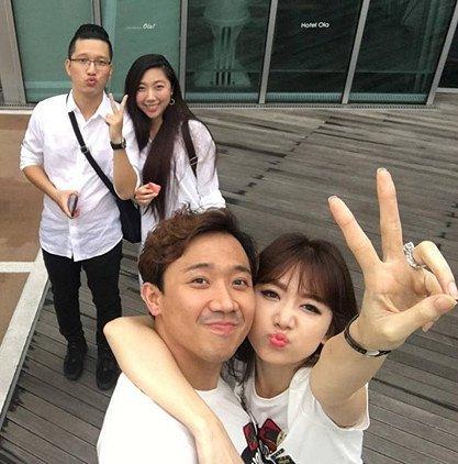 Em gái Trấn Thành để lộ giới tính em bé khi Hari Won từng bị nghi có thai 3
